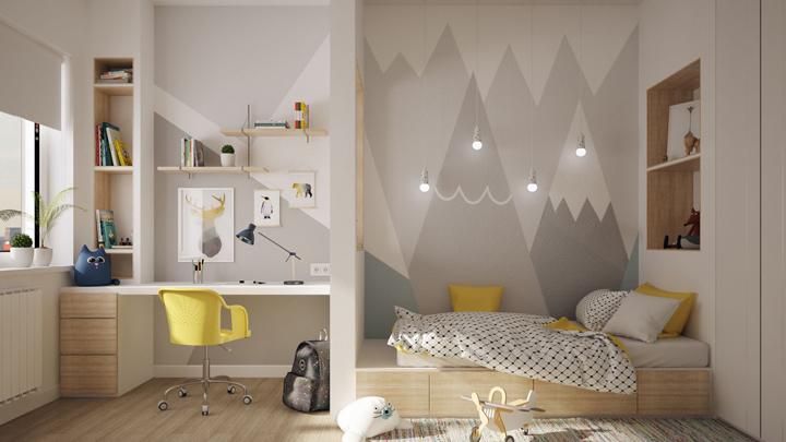 dormitorio-infantil-estampados