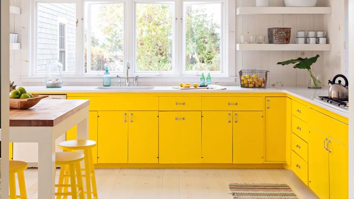 cocina-amarilla