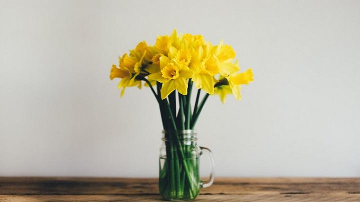 flores-sobre-madera