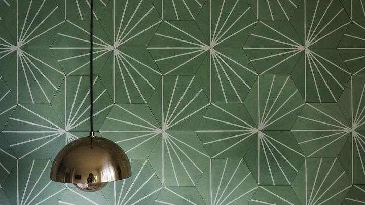 papel-pintado-en-verde