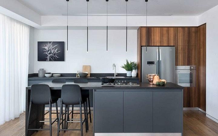 cocina-con-isla-de-color-negro