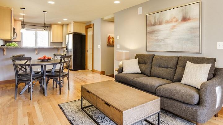 sofa-gris-con-cuadro-en-la-pared
