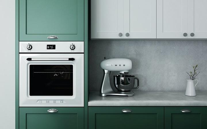 cocina-de-color-verde-y-blanco
