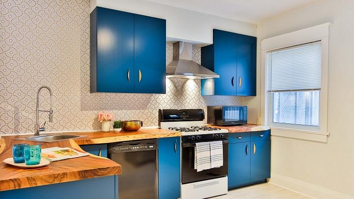 cocina-con-muebles-azules