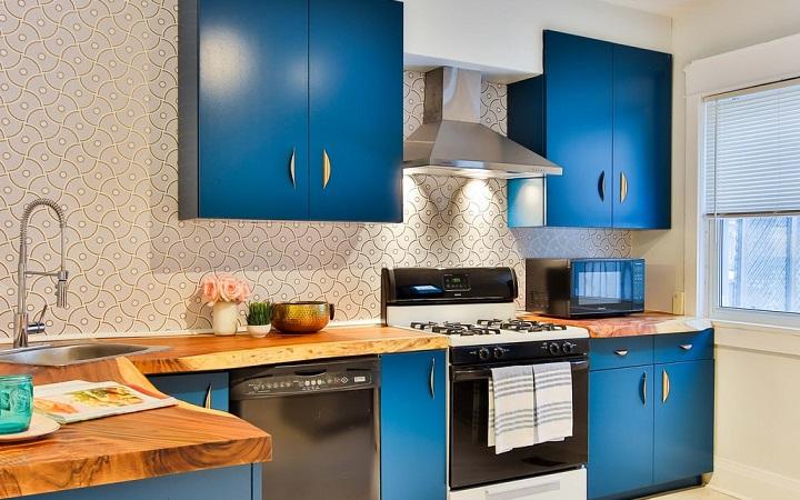 muebles-de-color-azul