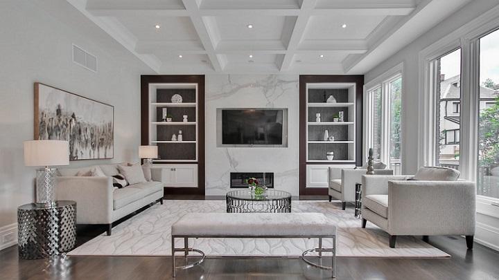 decoracion-de-salon-rectangular