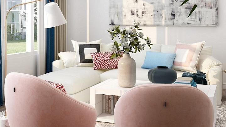 salon-con-sofas-rosas