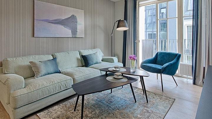decoracion-de-la-zona-de-estar-en-azul