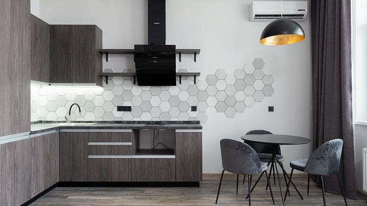 cocina-en-gris-y-negro