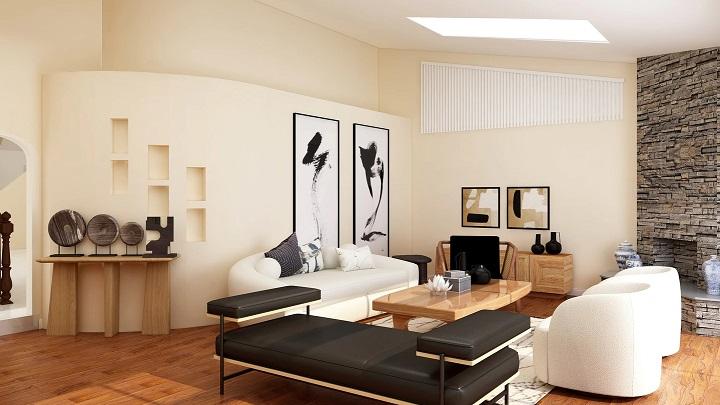sofas-y-laminas-en-salon