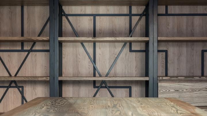 estanteria-de-hierro-y-madera