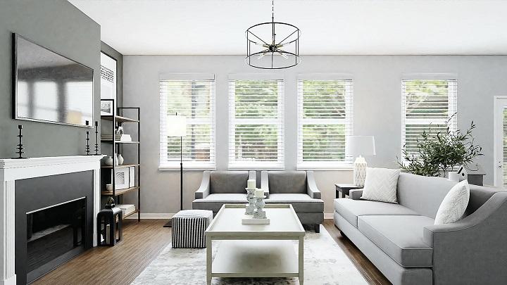 salon-decorado-en-gris-y-blanco