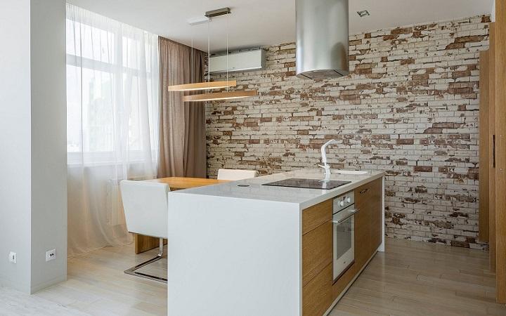 pared-de-ladrillo-en-la-cocina