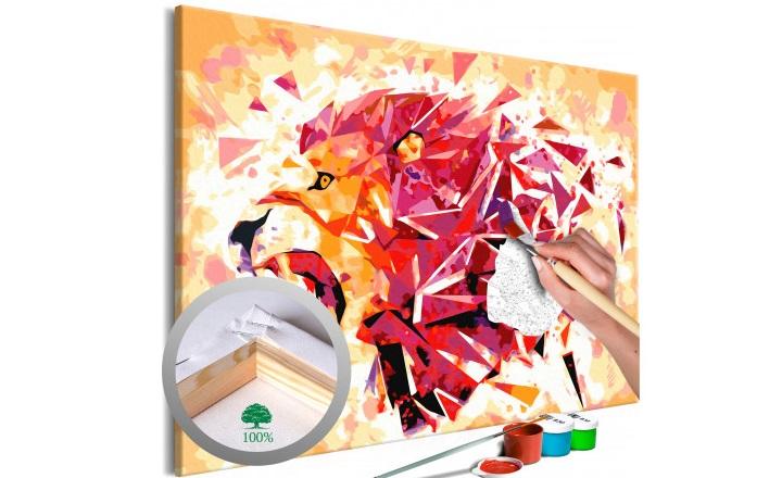 dibujos-para-pintar-con-numeros-leon