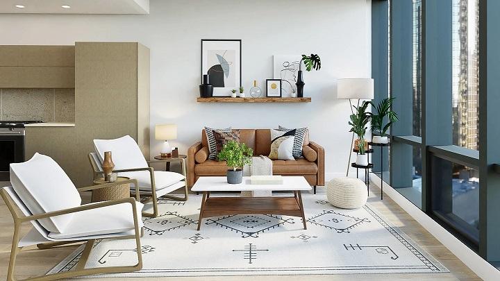 sofas-en-salon-rectangular