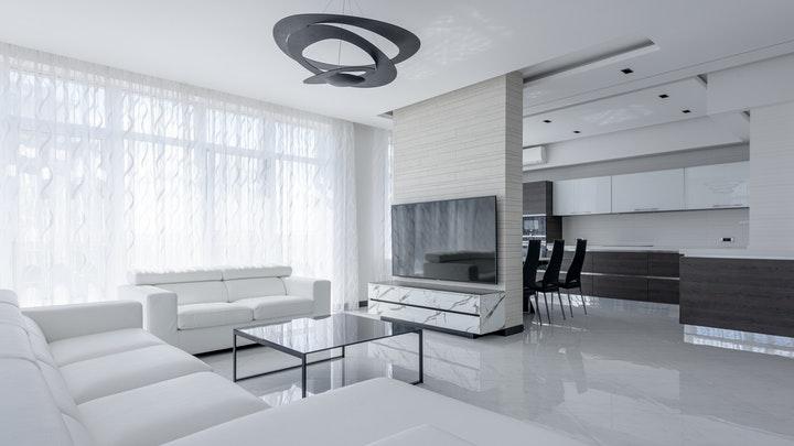 sofas-blancos-en-salon