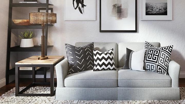 salon-con-sofa-y-cuadros